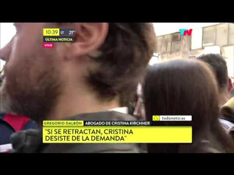 Agresión a Periodista de TN - Cristina Kirchner llevó una Patota para la Mediación con Lanata