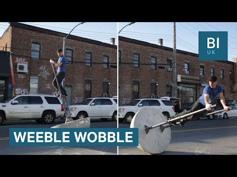 This huge 'weeble wobble' took the internet by storm