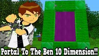 minecraft how to make a portal to the ben 10 dimension ben 10 dimension showcase