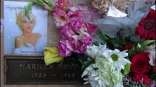 Marilyn Monroe - Her Crypt On Her 92nd Birthday