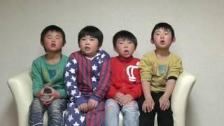 AKB48の「365日の紙飛行機」のメロディーに合わせて、楽しく県...