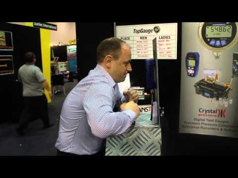 Top Gauge at Australian Oil & Gas 2013