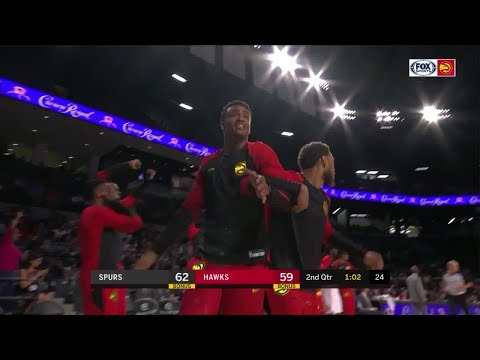 2nd Quarter, One Box Video: Atlanta Hawks vs. San Antonio Spurs
