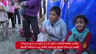 تفاقم معاناة العائلات النازحة من الموصل بمخيمات كردستان العراق
