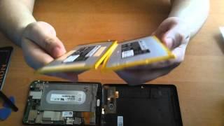 Планшет Dell Venue T01C002 - замена батареи