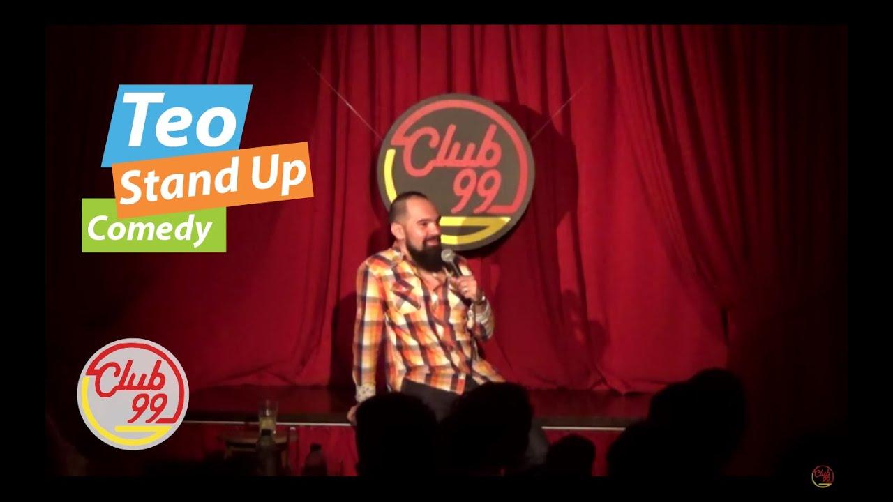 Teo - Dragostea adevarata + Crowd work | Club 99 | Stand-up Comedy