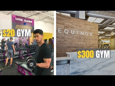 $20 A Month Gym VS $300+ A Month Gym