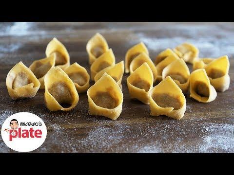 HOMEMADE TORTELLINI RECIPE | How to Make Tortellini Pasta | Italian Food Recipes