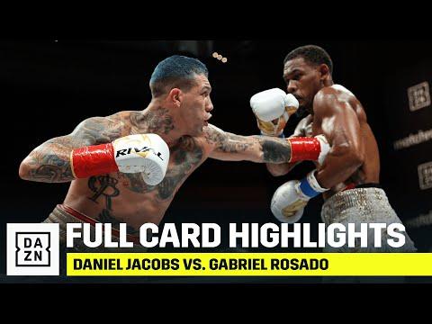 Дэниел Джейкобс – Габриэль Росадо / Daniel Jacobs vs. Gabriel Rosado