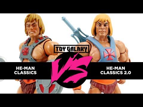 Versus #8 - Masters of the Universe Classics He-Man vs. Classics He-Man 2.0