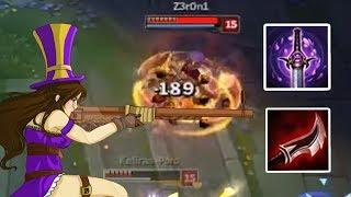 THE LONG GUN OF THE LAW - Lethality Caitlyn - BOOMBUILDS
