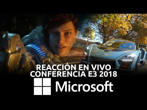 Conferencia Microsoft - Reacción en Vivo, E3 2018   3GB