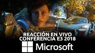 Conferencia Microsoft - Reacción en Vivo, E3 2018 | 3GB