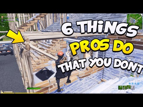 6 Things Pros Do That You're Not Doing! Tips & Tricks