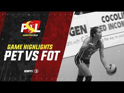 Highlights: Petron vs. Foton | PSL Grand Prix 2019