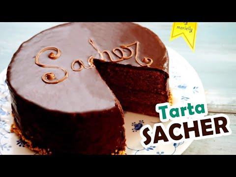 Tarta SACHER | Sachertorte 🍫 RECETA by MARIELLY