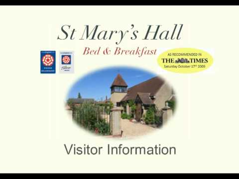 Visitors Guide to Alton by St Mary's Hall B&B