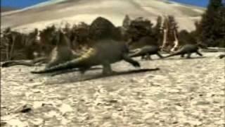 Comportamiento del Dimetrodon cazando