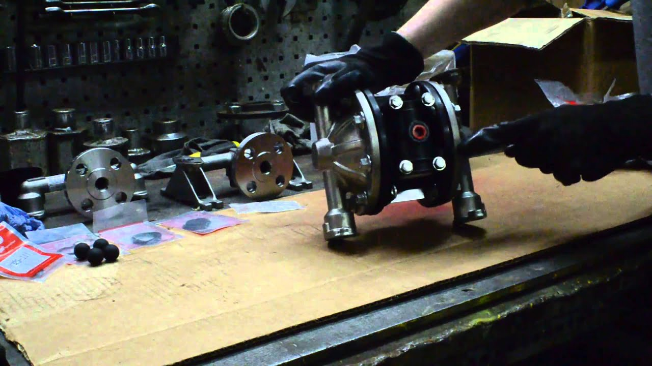 Rebuilding a 12 pd05p half inch aro diaphragm pump youtube ccuart Choice Image