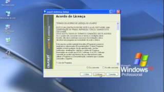 Instalação anti-virus - Avast 4.8