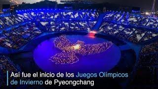 La inauguración de los 'Juegos de la Paz'