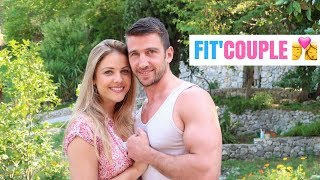 Vlog - Fitness couple Crossfit  Repas Force pure