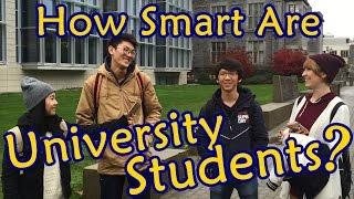Testing University Students' Knowledge
