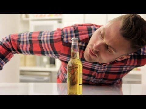 How To Open A Beer Bottle Without Touching It