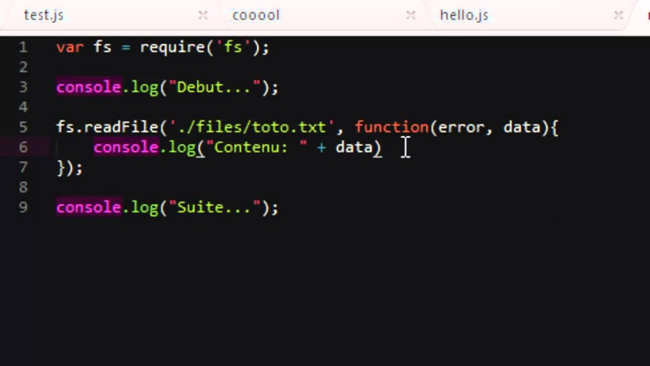 node read file