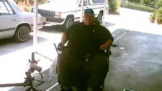 Car Horns on an Electric Wheelchair