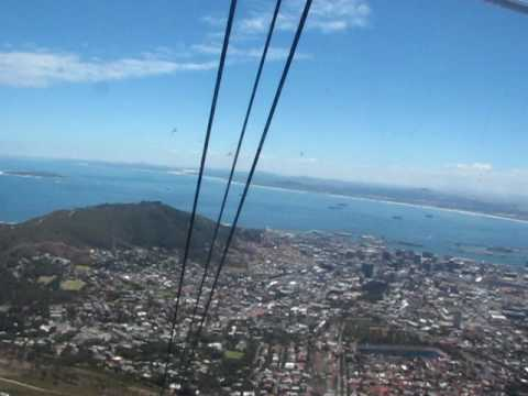 Cable Car up Table Mountain - Cape Town South Africa