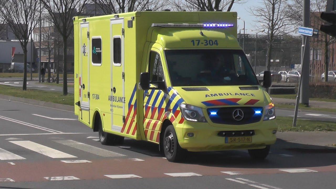 (Sirenewissel!) Mobile Intensive Care Unit MICU met spoed vanaf het Maasstad ziekenhuis!