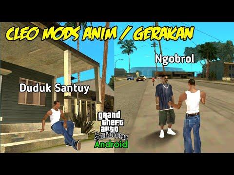 Cleo Mods Anim / Gerakan - GTA SA Android