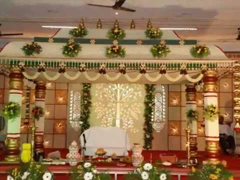 Wedding Stage Decorators Madurai Decorators Youtube