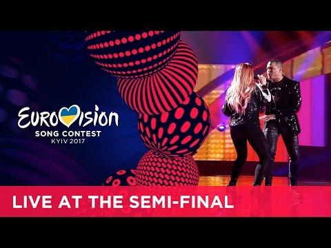 Valentina Monetta and Jimmie Wilson - Spirit of the Night (San Marino) LIVE at the second Semi-Final