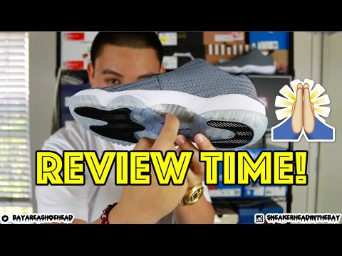 Air Jordan Cool Grey Future Low Review + On Feet! THANKS CHAMPS SPORTS!