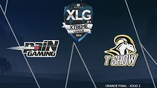 XLG #1 de Dota 2 - Grande Final: paiN Gaming vs T Show - Jogo 2