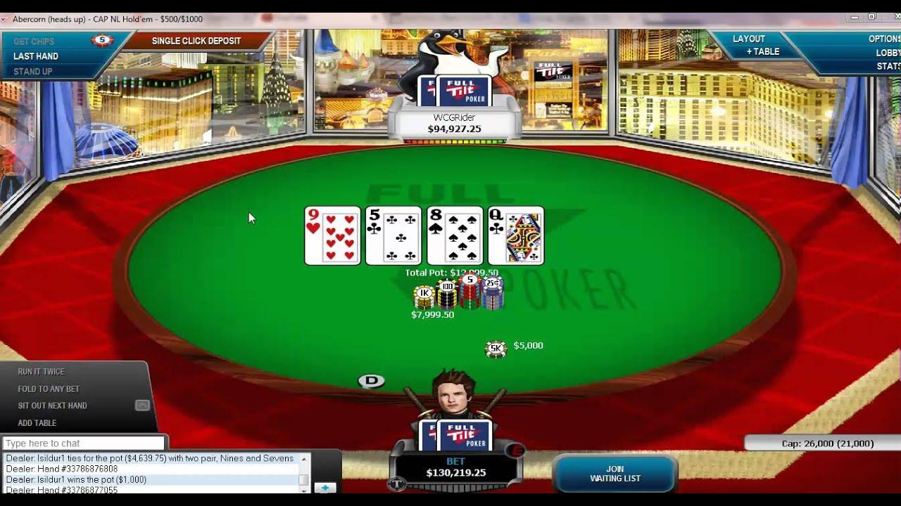 D22-soso vs. WCGRider Doug Polk Heads Up No Limit Poker ...