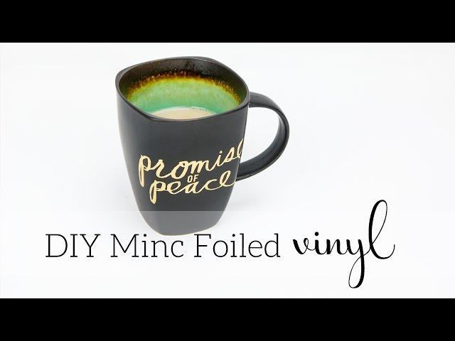 How to Foil Vinyl with the Heidi Swapp Minc