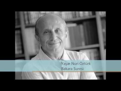 Yaşar Nuri Öztürk - Bakara (İnek) Suresi