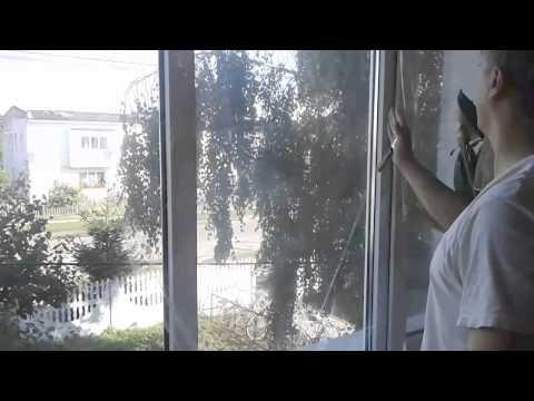Термоизолирующая плёнка на окна
