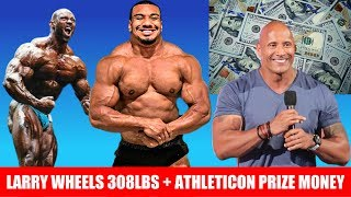 MonsterZym Pro Controversy + The Rock's Prize Money + Larry Wheels Physique Update + MORE