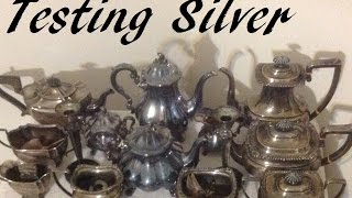 How To Test 925 Sterling Silver With Silver Test Solution