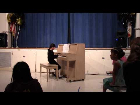 Jida's variety show at Bagby Elementary school 2014: I see the light from Tangled