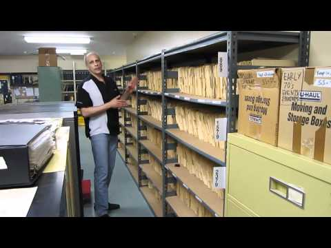 HOT ROD Archives Room Video Tour