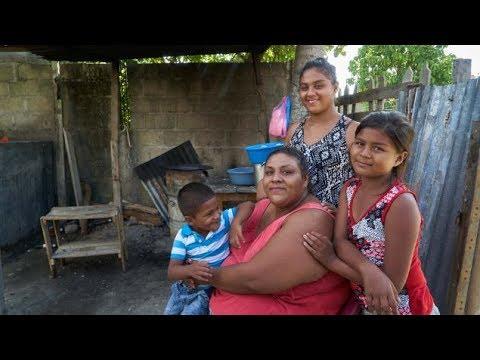 Des migrants désespérés fuient le Honduras