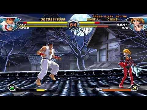 Tatsunoko vs. Capcom - Gameplay Footage (Part 1 of 3)