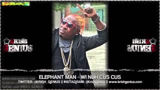 Elephant Man - Wi Nuh Cus Cus [Fuss Cuss Riddim] June 2013