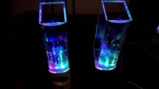 Колонки с фонтанчиком UFT Dancing Water Speakers  (изменил схему и вот что вышло)