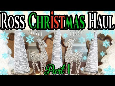 🎄christmas-home-decor-haul-2017ross-part1-must-see💎🎄